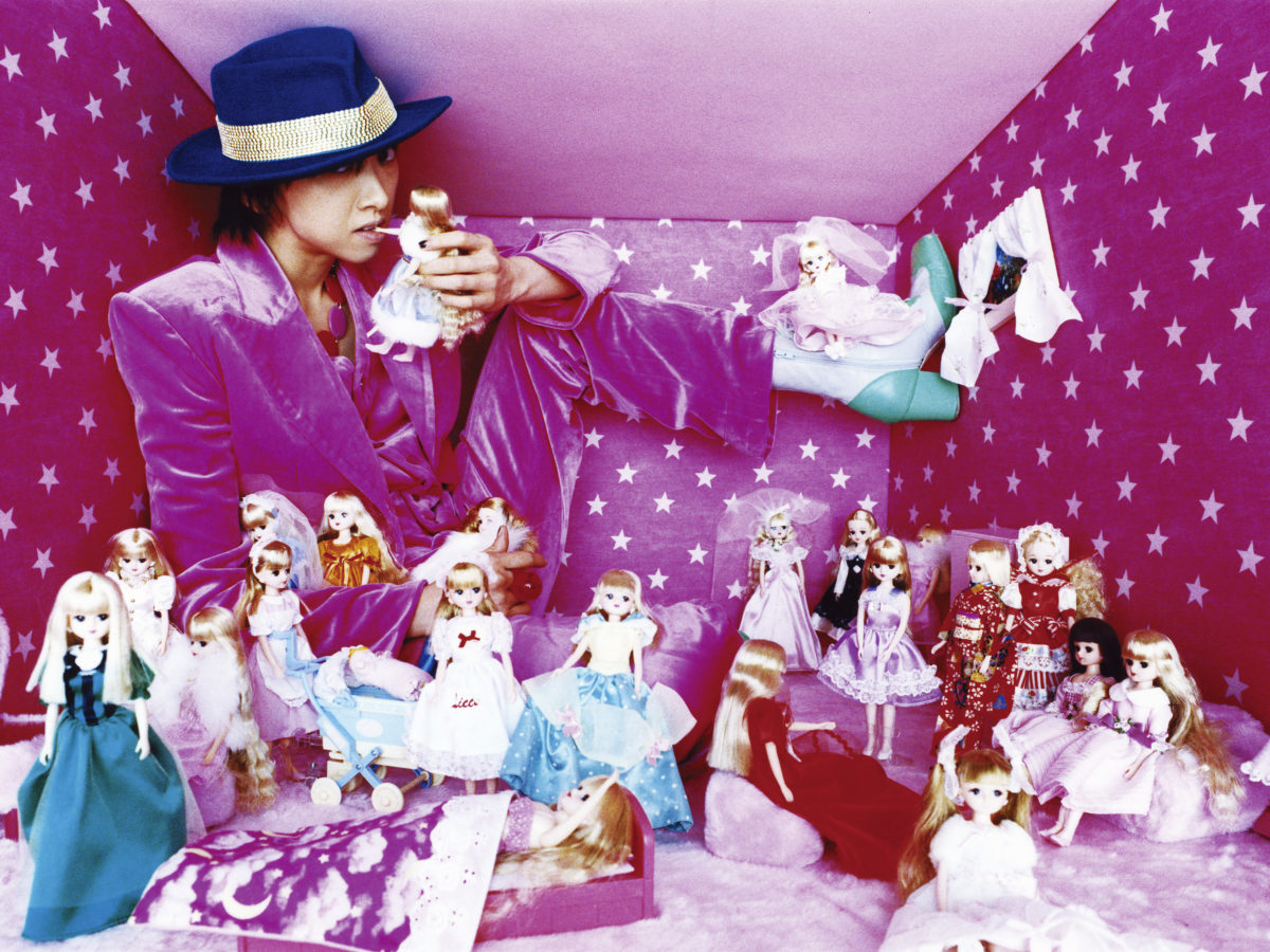 Mika loved her Barbie's Collection.