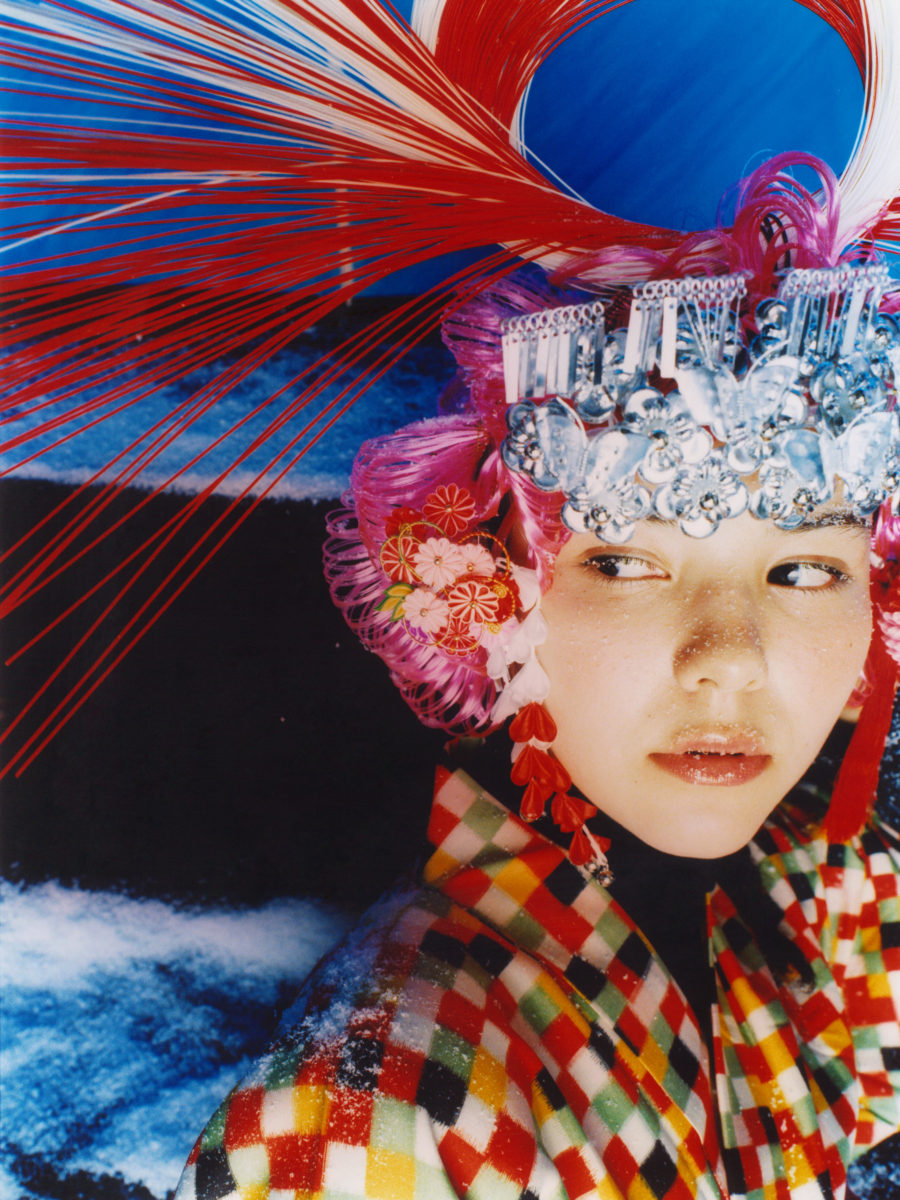 A portrait from Mik Ninagawa collection, 2010.