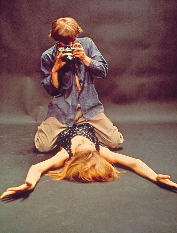 "Nikon in Antonioni's ""Blow-Up"" movie."
