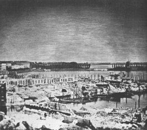 Fire of Hamburg 1842